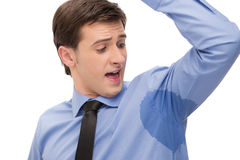 Sweaty armpit Stock Photos