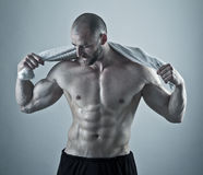Sweaty after a Workout Royalty Free Stock Images