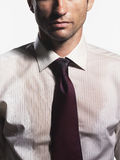 Sweaty Young Businessman Royalty Free Stock Photography
