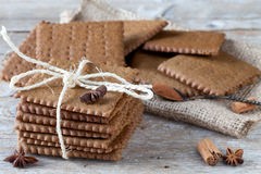 Swedish Spiced Biscuits Stock Images
