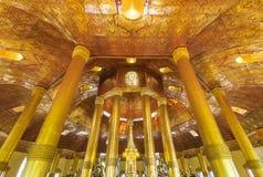Swedaw Myat寺庙,缅甸 免版税库存照片