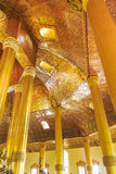 Swedaw Myat寺庙,缅甸 图库摄影