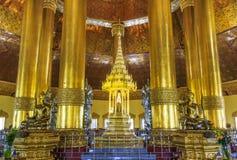 Swedaw Myat寺庙,缅甸 免版税库存图片