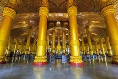Swedaw Myat tempel, Myanmar Arkivfoton
