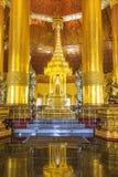 Swedaw Myat tempel, Myanmar Royaltyfria Foton