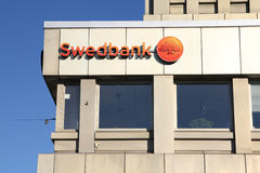 Swedbank a Malmo Fotografie Stock Libere da Diritti