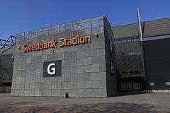 Swedbank Stadion przy Malmo Obraz Royalty Free