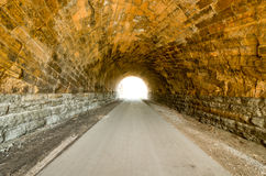 Swede Hollow Tunnels Royalty Free Stock Image