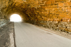 Swede Hollow Tunnels Royalty Free Stock Images