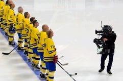 Sweden anthem sound Royalty Free Stock Photo