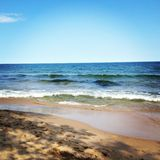 Sweden beach Royalty Free Stock Photography