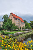 Sweden. Blooming Uppsala before the storm Royalty Free Stock Photography