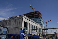 SWEDEN_CONSTRUCTION ISTE 免版税图库摄影