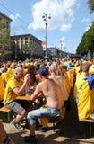 sweden för hörnventilatorkyiv zon Arkivbilder
