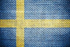Sweden Flag. Royalty Free Stock Image