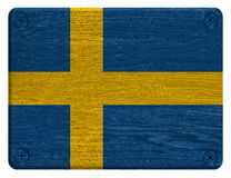 Sweden flag Stock Photography
