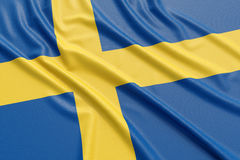 Sweden flag Stock Image