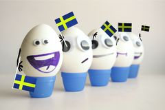 sweden football championship stock photography