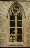 Sweden, Gothenburg, Hagakyrkan. Window stock photo
