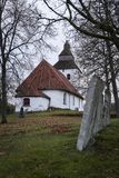 Old church from about 1200s. royalty free stock image