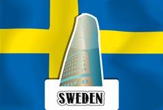 Sweden, illustration Royalty Free Stock Image
