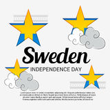 Sweden Independence Day. Royalty Free Stock Photos