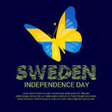 Sweden Independence Day. Stock Image