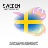 Sweden Independence Day. Stock Photos