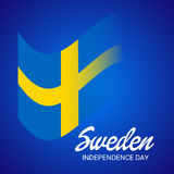 Sweden Independence Day. Stock Photo