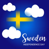 Sweden Independence Day. Royalty Free Stock Photo