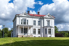 Sweden - Jonsered Manor. Jonsered Manor is a building with a long and varying history. How long its history is remains shrouded in mystery. But it is traceable Stock Images