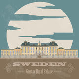 Sweden landmarks. Retro styled image Stock Photo