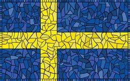 Sweden National Flag Stock Photos