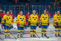 Sweden national team Royalty Free Stock Photo