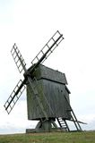 Sweden Oland Historic Windmill Stock Images