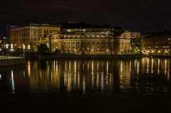 Sweden Parliament House Royalty Free Stock Photo