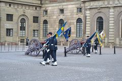 Sweden Royal guard Royalty Free Stock Photography