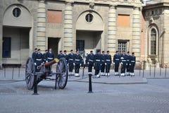 Sweden Royal guard Royalty Free Stock Image