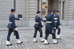 Sweden Royal guard Royalty Free Stock Photo