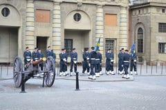 Sweden Royal guard Stock Photos