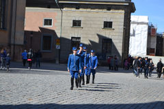 Sweden Royal guard. Stock Photography