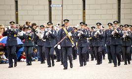 Sweden Royal guards Royalty Free Stock Images