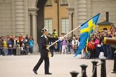 Sweden Royal guards Royalty Free Stock Photography