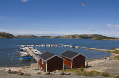 Sweden Skagerrak. Summer in 2007 Stock Image