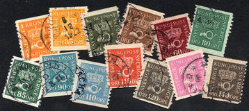 Sweden stamps Stock Photography