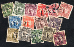 Sweden stamps Royalty Free Stock Image