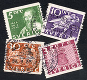 Sweden stamps Stock Photos
