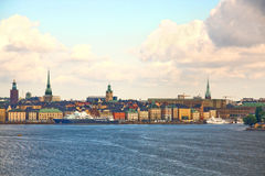 Sweden. Stockholm. Stockholm - the capital of Sweden, amazingly picturesque «Northern beauty» city Stock Images