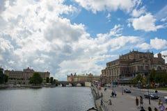 Sweden Stockholm City Stock Photos