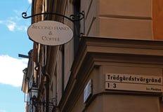 Sweden Stockholm City Stock Image